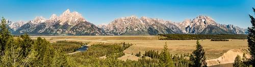 Teton Panorama - Explore