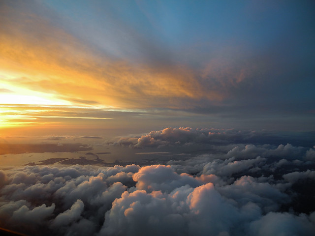 Sunset - California Coast, Nikon COOLPIX P7000