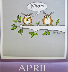 It's the Little Things, like my Boynton calendar, making me smile every day.....