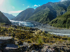 Fox Glacier from afar ...NZ