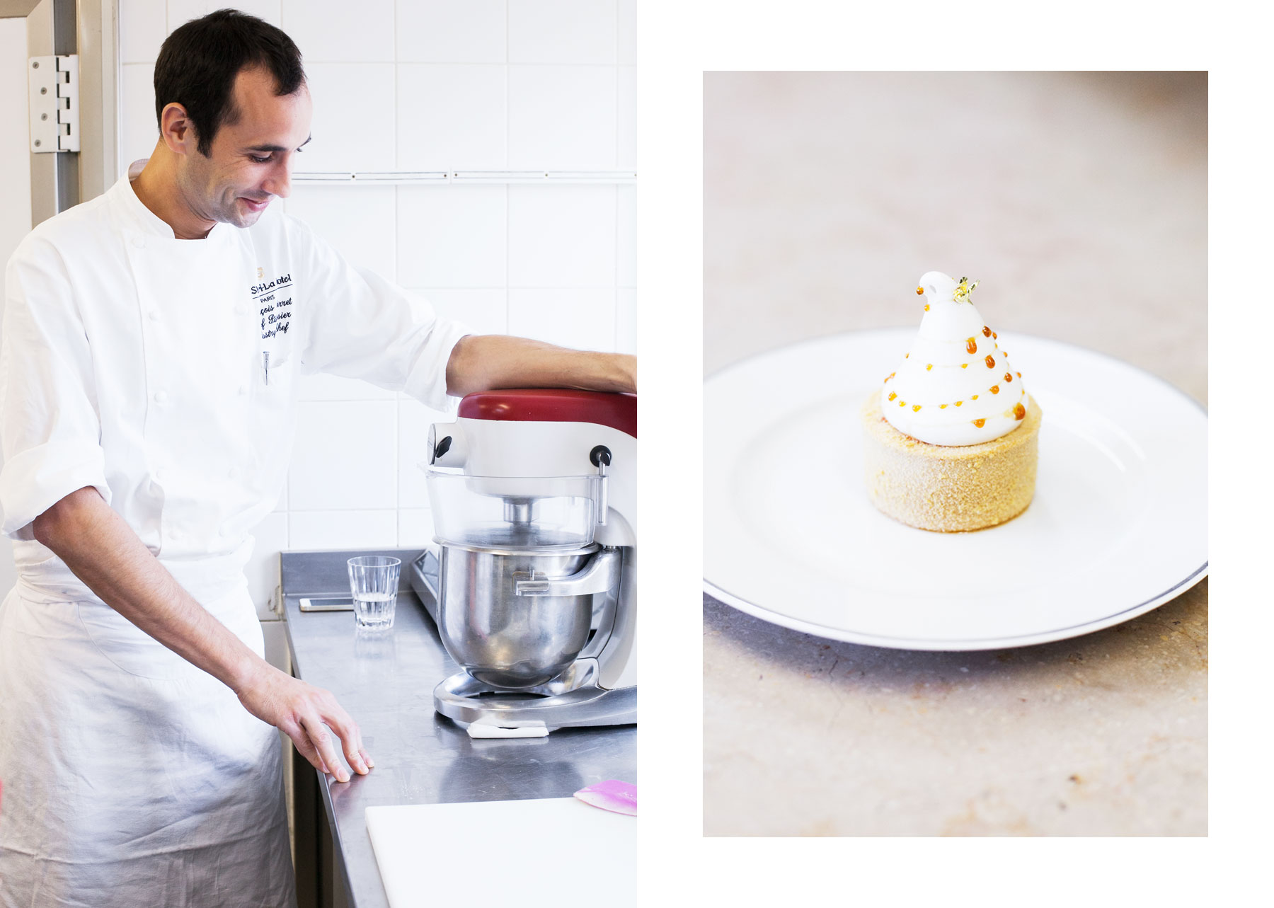 Shangri-La's pastry kitchen by Carin Olsson (Paris in Four Months)