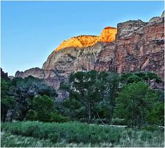 Zion NP, Sunrise in Big Bend 5-1-14jb