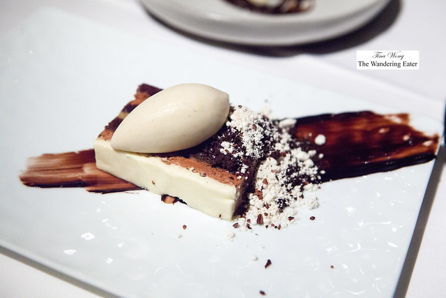 Chocolate, Devil's Food Cake, Black Cardamom, Rum and Banana Ice Cream