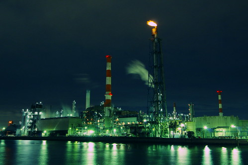 Nightscape at Kawasaki Industrial Zone 11