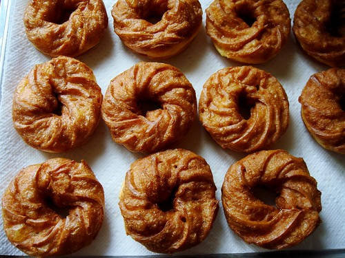 French Crullers: Out of the Fryer