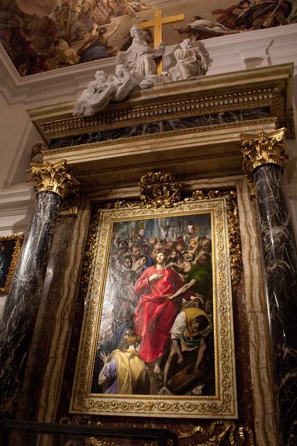 cathedral toledo sacristy el greco