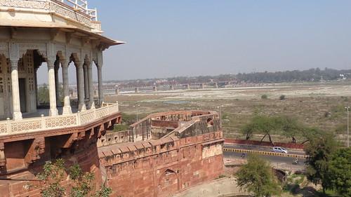 travel india river asia fort taj mahal tajmahal agra touring yamunariver mughal agrafort uttarpradesh yamuna mughals