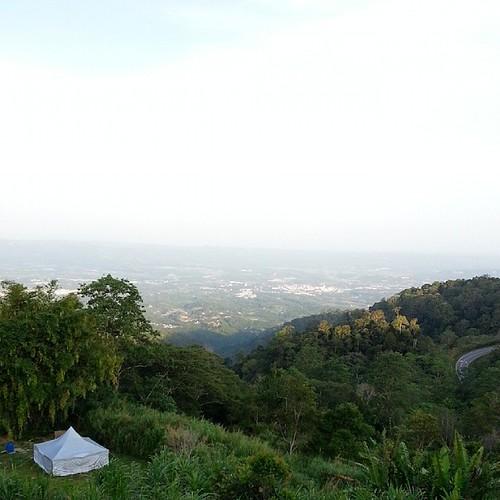 View from Manis Manis Nature Resort.