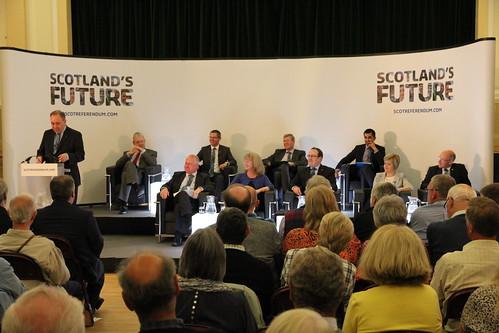 Scotland's Future - public discussion in Selkirk