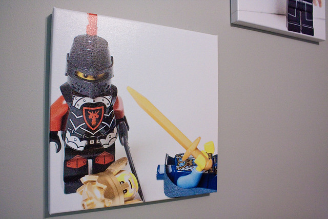 LEGO minifigure canvas