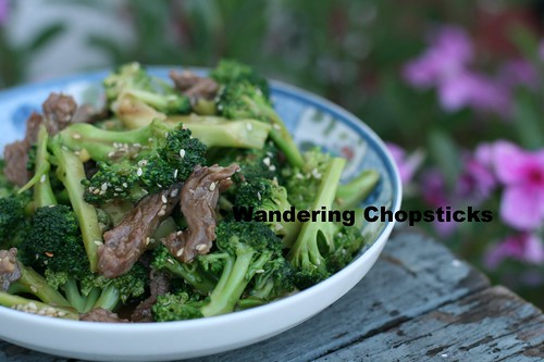 Chinese Beef and Broccoli Stir-fry 2