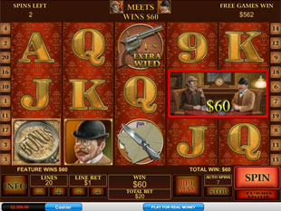 Sherlock Mystery Free Spins Feature