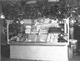 Photograph of a Bakery Stand in Center Market, 02/18/1915