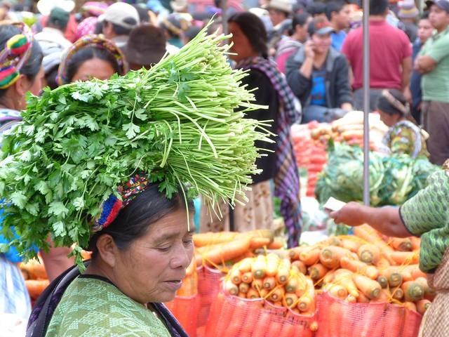 Mercado de Almolonga (Quetzaltenango, Guatemala)