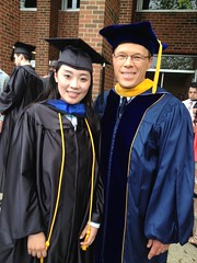 Graduation 2014 Xaiochen Huan and David Ormsbee