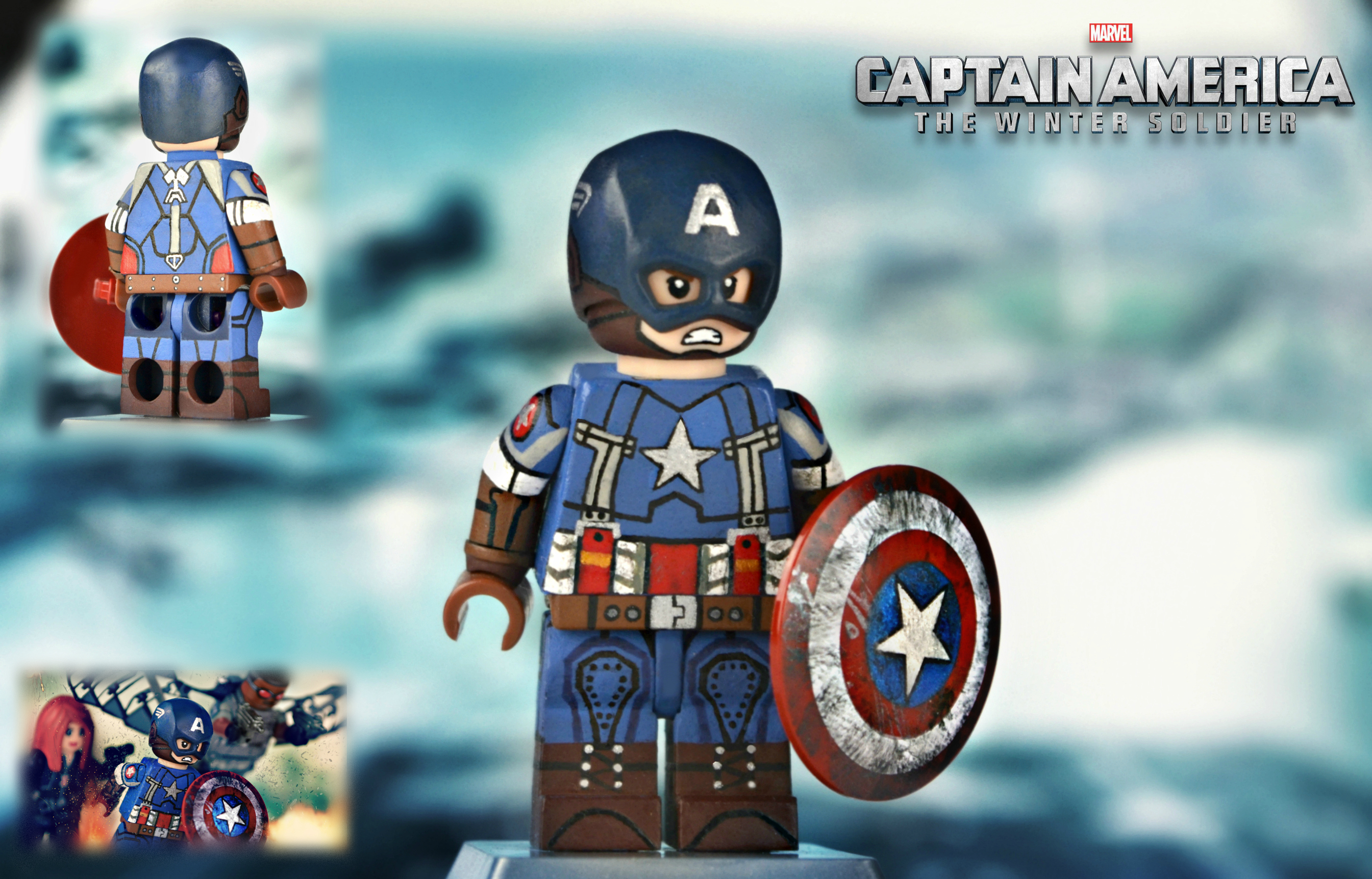 Lego captain america golden age suit flickr photo sharing - Lego capitaine america ...