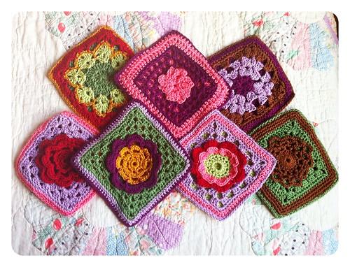 Granny Square Washcloths