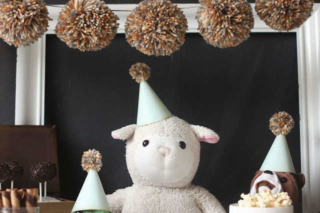 a stuffed animal birthday