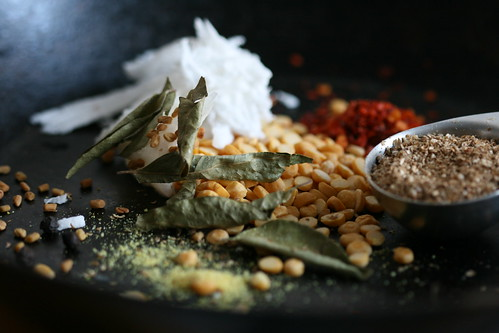 Sambhar spices & coconut