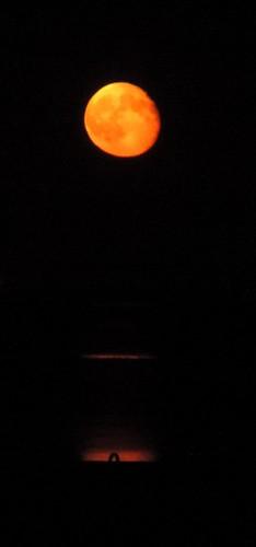 Moonrise over the Atlantic