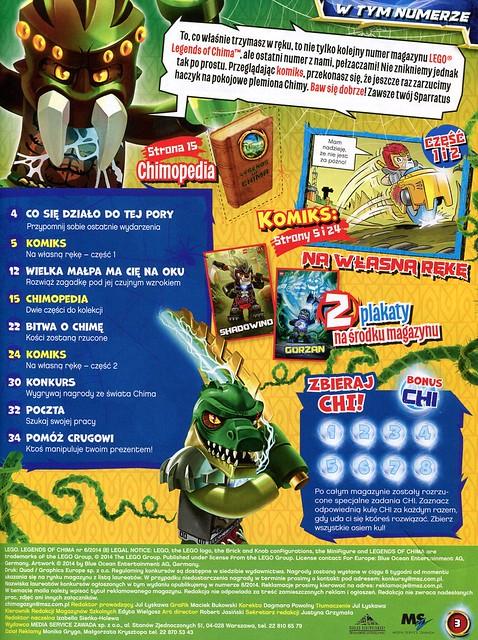LEGO Legends of Chima Oficjalny Magazyn 2014-06 02