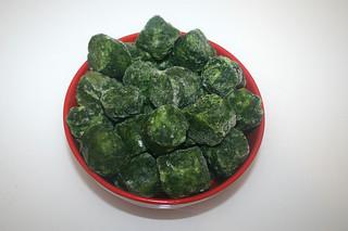 02 - Zutat Blattspinat / Ingredient leaf spinach