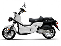 BMS Astro 150 Gas Moped #Scooter #Megamotormadness SCO088-F White color