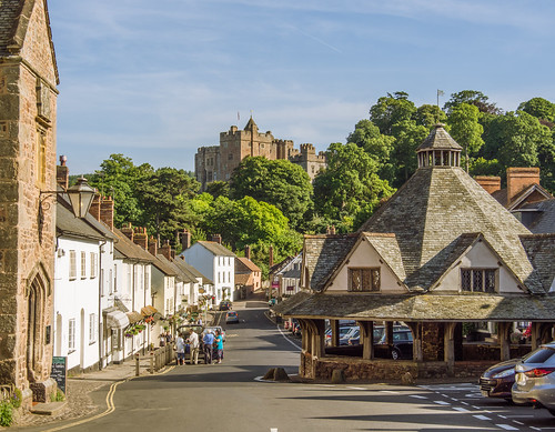 The picturesque village of Dunster in Somerset