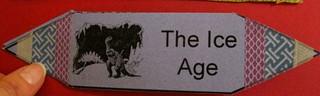 """""""Ice Age"""" Accordion Fold Book"""
