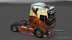 Free Spirit skin for Volvo FH 2012
