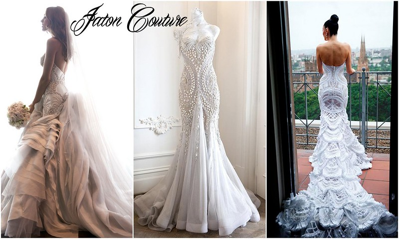 Jaton Couture wedding dresses