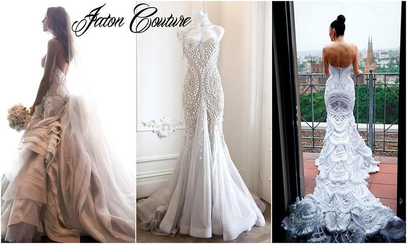 Jaton Couture wedding dresses