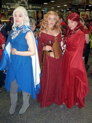 First Game of Thrones cosplayers of the day