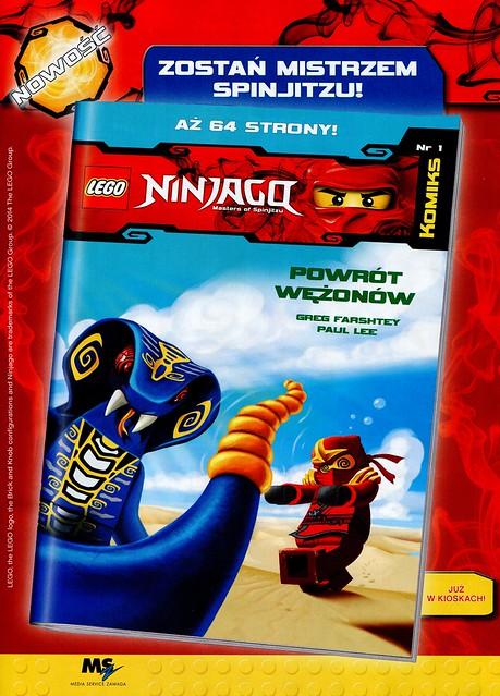 LEGO Legends of Chima Oficjalny Magazyn 2014-07 05