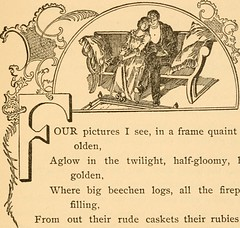 """Image from page 74 of """"At early candle light and other poems"""" (1900)"""