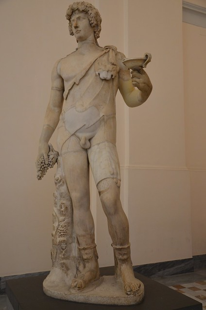 Antinous-Bacchus, 2nd century AD, Naples Archaeological Museum