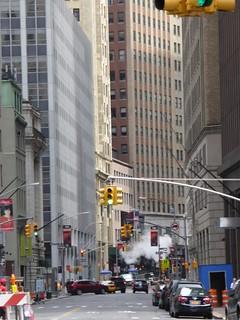 Humo al final de la calle ¡Otra Chimenea! :D