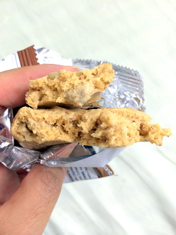 Quest Bar review - banana nut muffin-002
