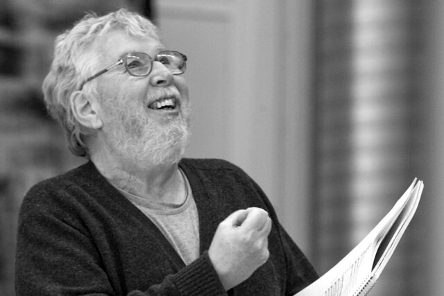 Harrison Birtwistle in rehearsal for The Minotaur, The Royal Opera © Rob Moore