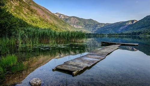 morning travel light summer lake reflection sunrise landscape mirror nikon bosnia herzegovina d800 bosna boracko calmnes