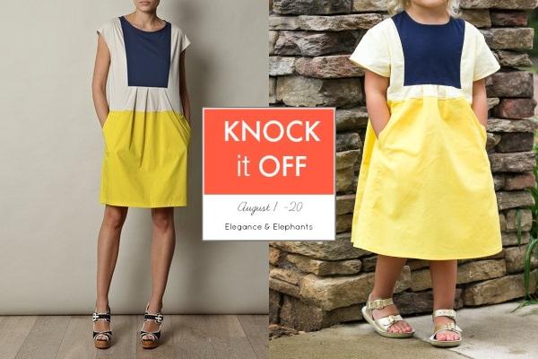 Knock It Off Hide and Seek Dress