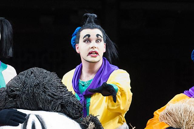 David Butt Philip as Pang in Turandot © ROH/Tristram Kenton, 2013