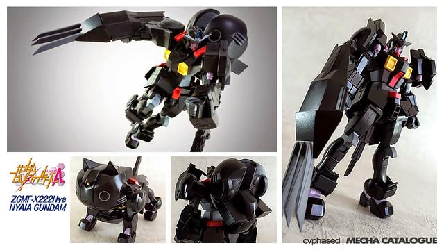 Chara Hobby 2014 C3 x Hobby – 1/144 Nyaia Gundam