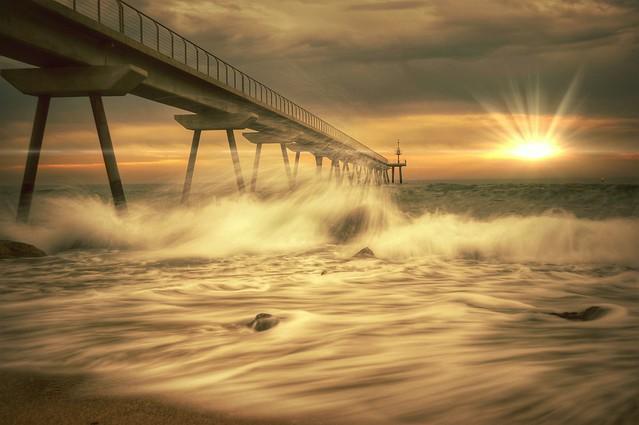 Gold sunrise...