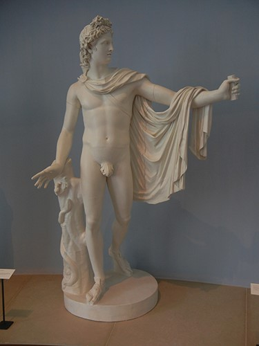 DSCN1391 _ Apollo Belvedere, Anonymous, Greco-Roman, c 330BCE, 19th cen. reproduction, Blanton Museum