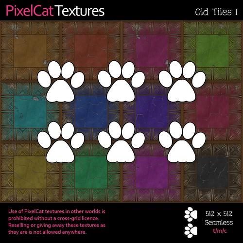 PixelCat Textures - Old Tiles I