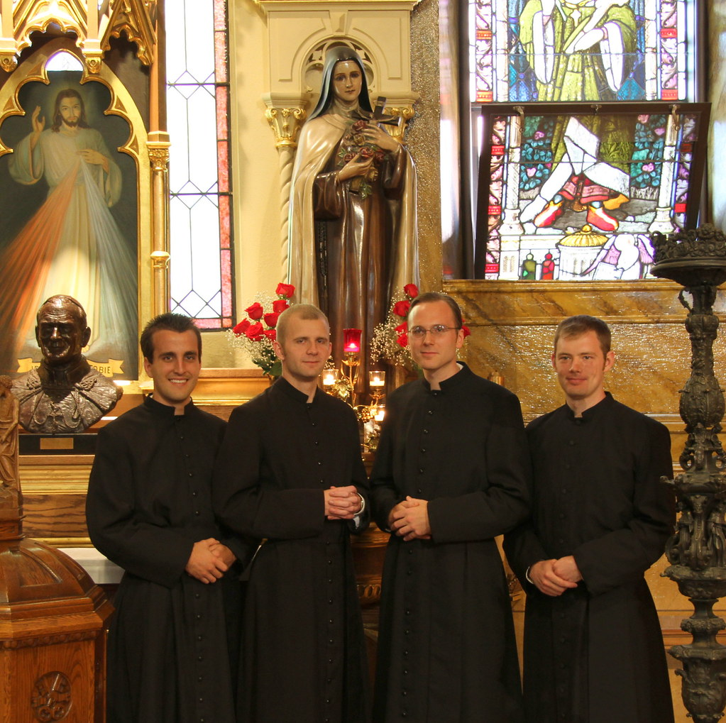 Four new Novices welcomed into the Canons Regular