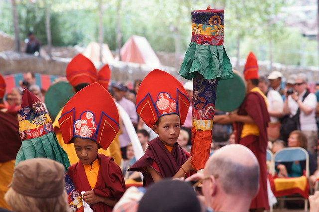 Cham dance, festival at Takthok Gompa. Ladakh, 06 Aug 2014. 149