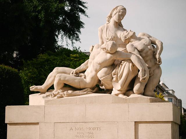 Monumento a los caídos - Estrasburgo
