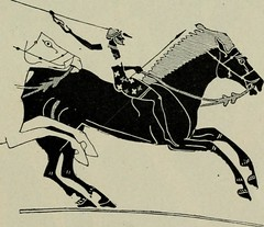 """Image from page 375 of """"Greek athletic sports and festivals"""" (1910)"""